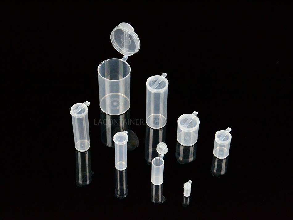 LA Container Gamma Sterilizable Polypropylene Round