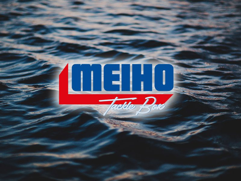 Meiho Tackle Box Fishing Supply Storage Website Logo