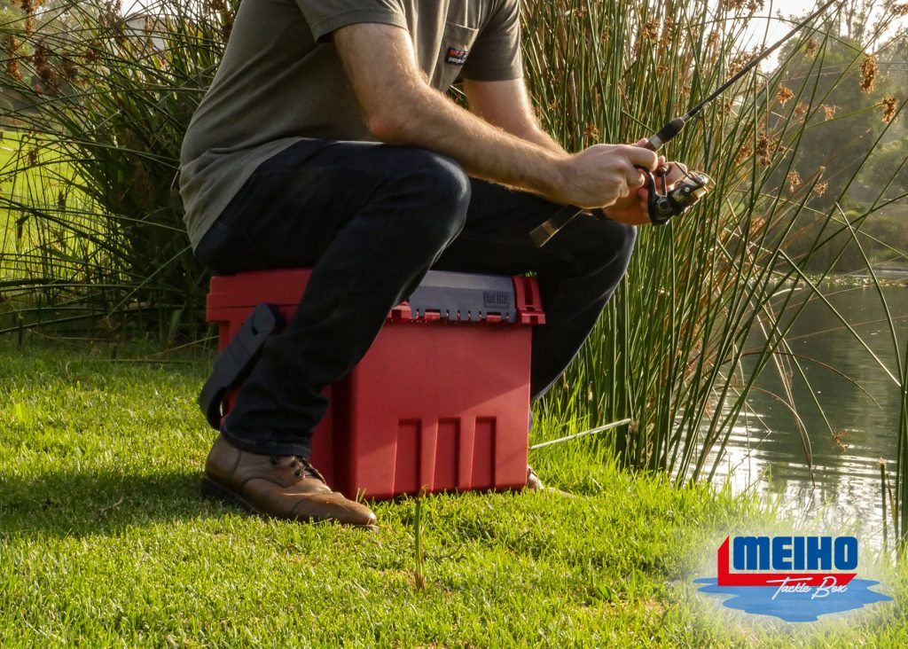Meiho Plastic Box Seat Bucket Mouth Tackle Box