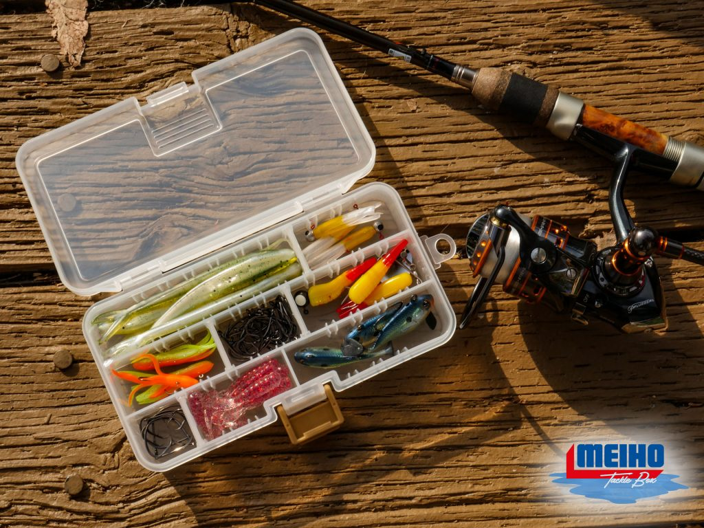 Adjustable Plastic Compartment Case For Fishing Supplies