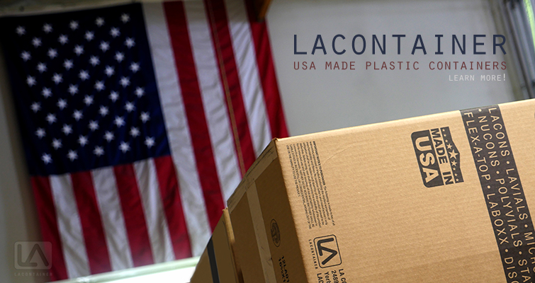 LAContainer Made In USA Plastic Containers